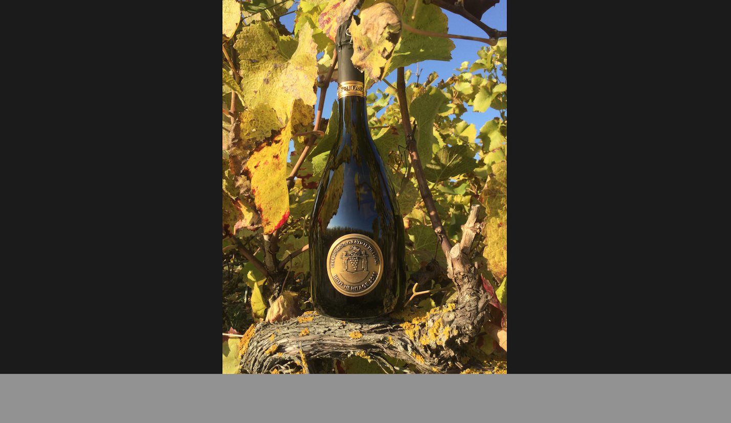 October 2015 - New cuvée: HERITAGE
